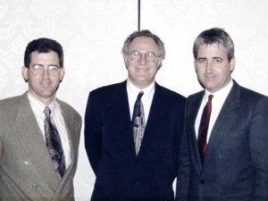 Dr. Kenneth Malament with Rick and Buddy, mid 1980s.